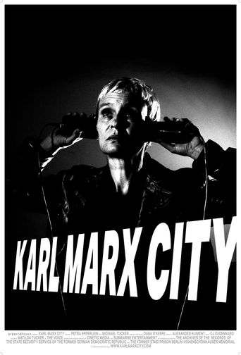 Karl Marx City Poster