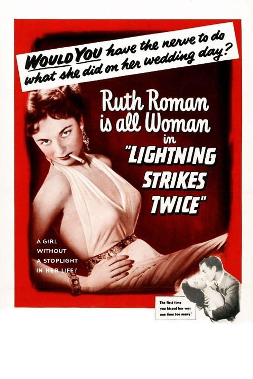 Lightning Strikes Twice Poster