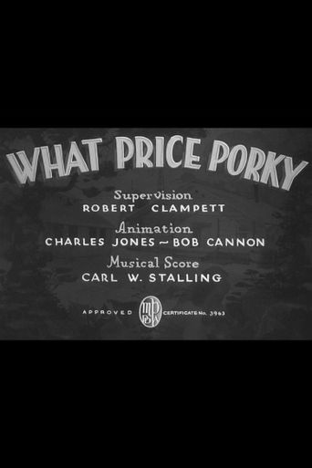 What Price Porky Poster