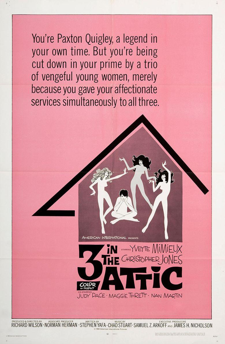 Three in the Attic Poster
