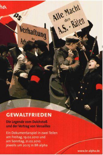 Der Gewaltfrieden Poster