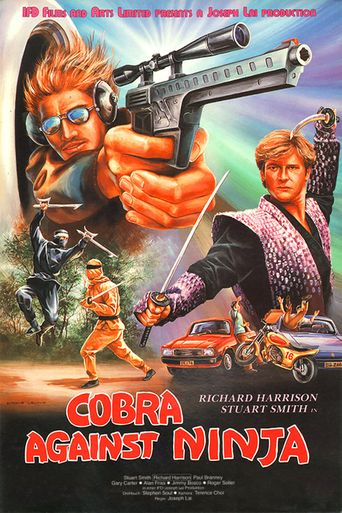 Cobra Against Ninja Poster