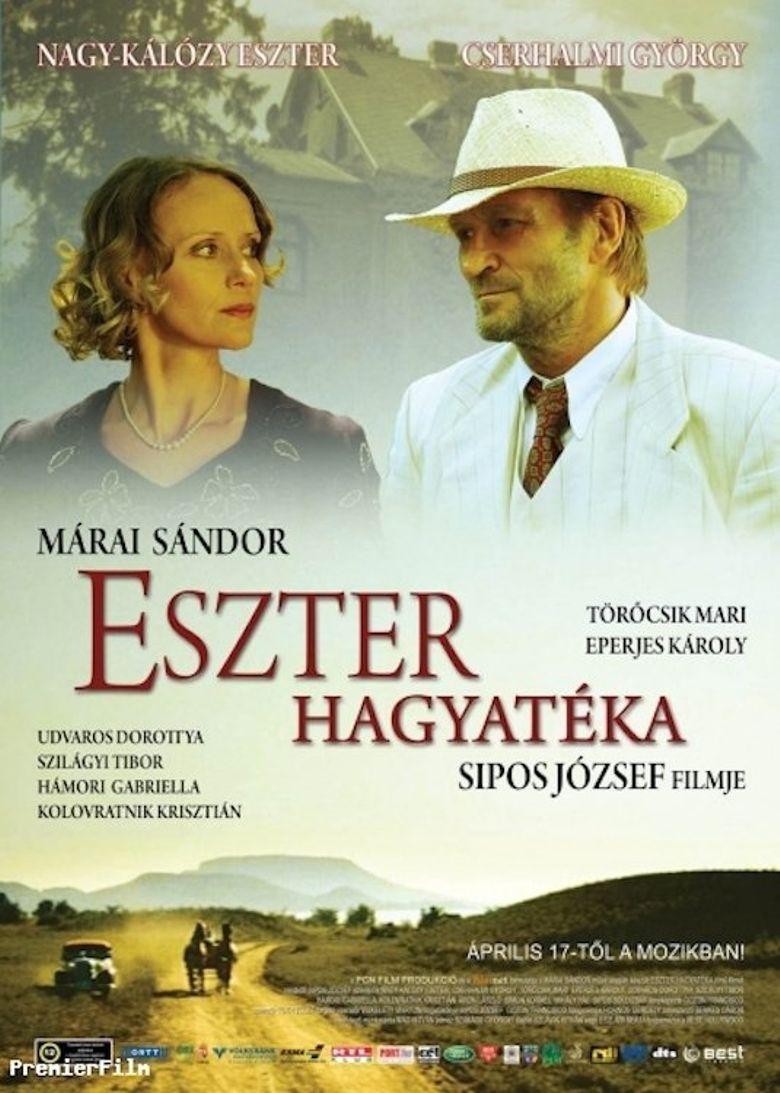 Eszter's Inheritance Poster