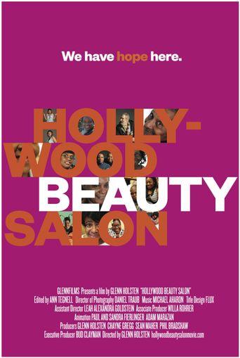 Hollywood Beauty Salon Poster