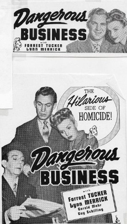 Watch Dangerous Business