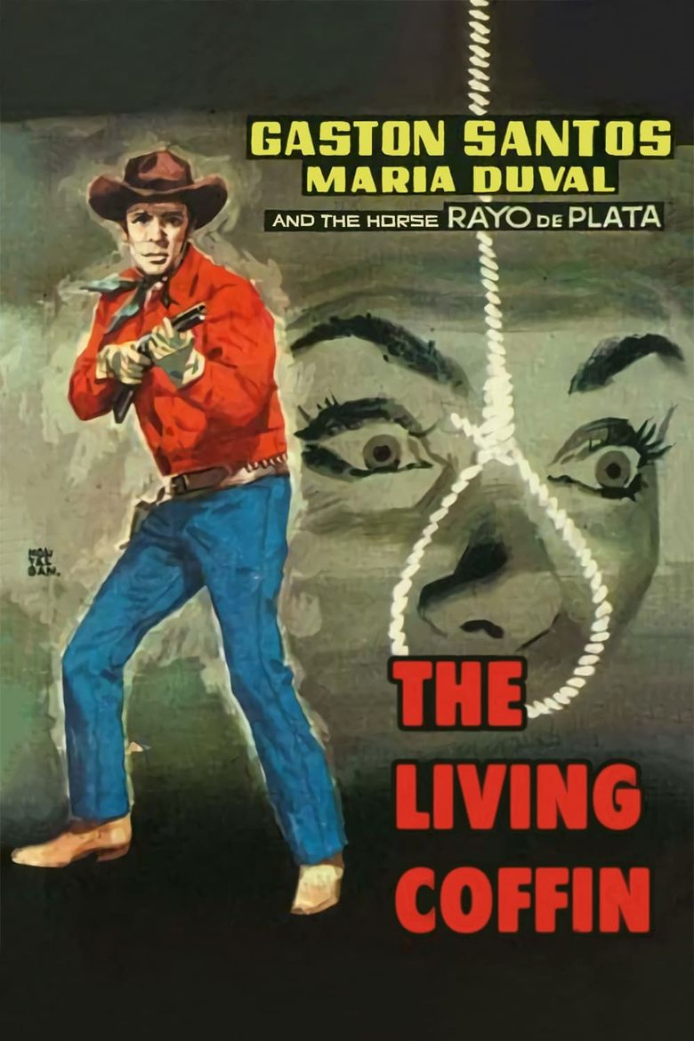 The Living Coffin Poster
