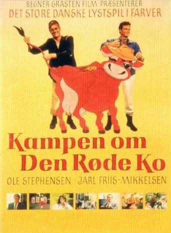 Kampen om den røde ko Poster
