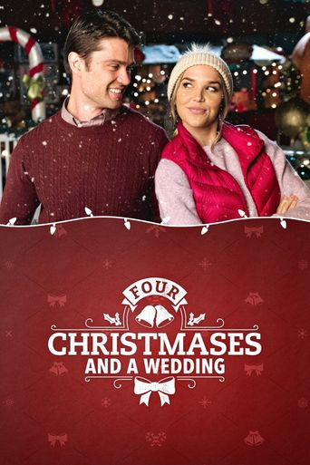 Four Christmases and a Wedding Poster