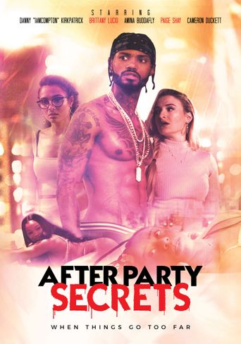 After Party Secrets Poster