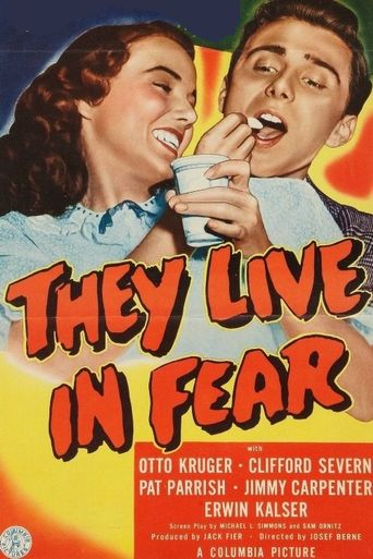 They Live in Fear Poster