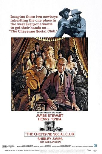 The Cheyenne Social Club Poster