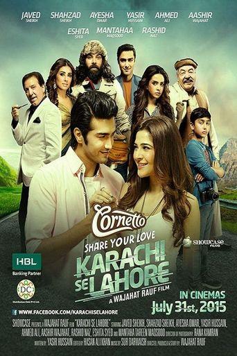 Karachi se Lahore Poster