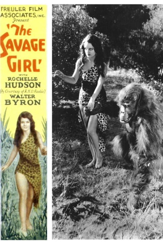 The Savage Girl Poster
