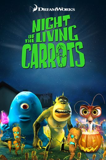 Night of the Living Carrots Poster