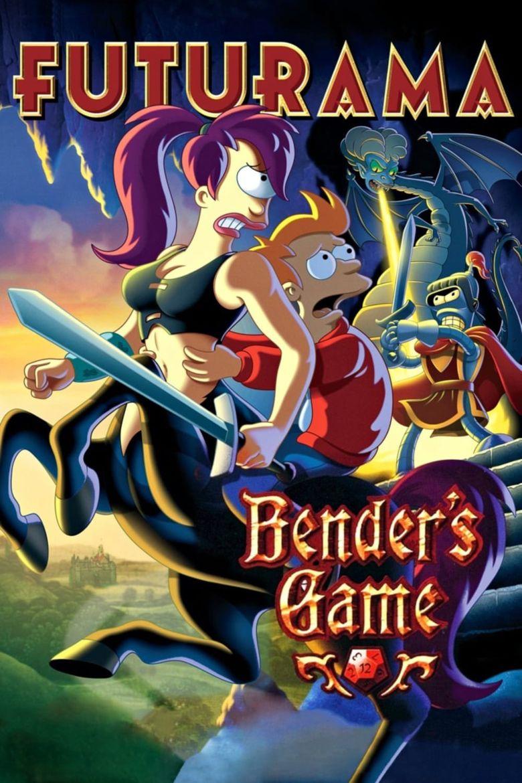 Futurama: Bender's Game Poster