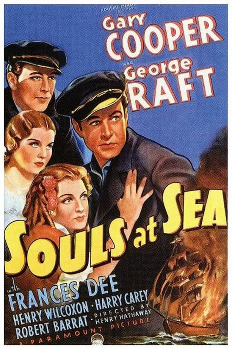 Souls at Sea Poster