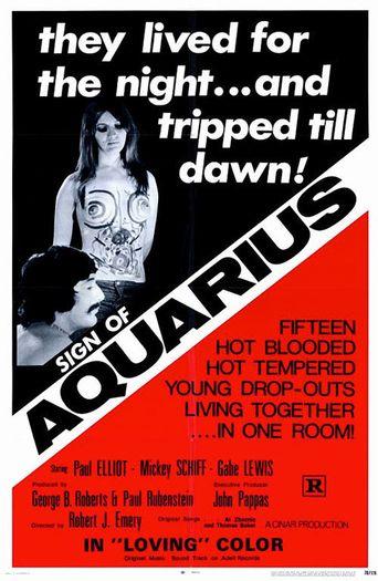 Sign of Aquarius Poster
