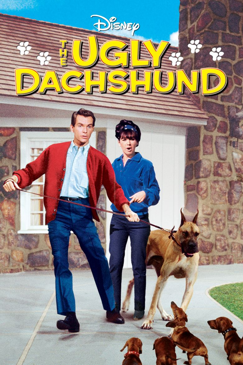 The Ugly Dachshund Poster