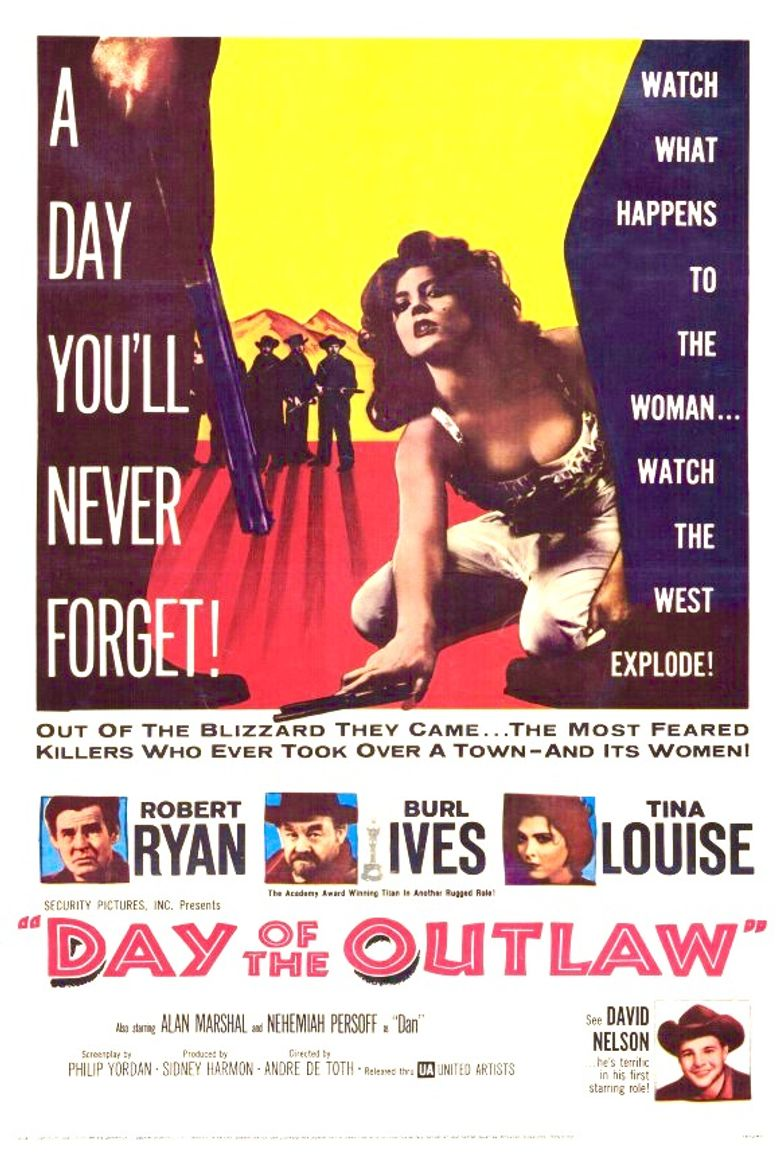 Day of the Outlaw Poster