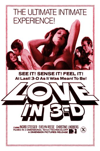 Love in 3-D Poster