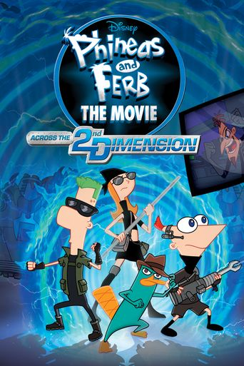 Phineas and Ferb the Movie: Across the 2nd Dimension Poster