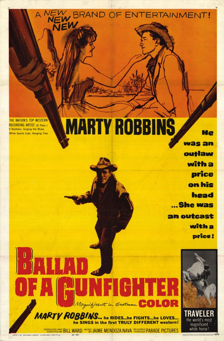 The Ballad of a Gunfighter Poster
