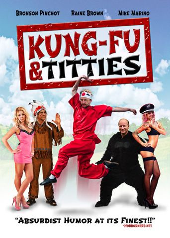 Kung-Fu and Titties Poster
