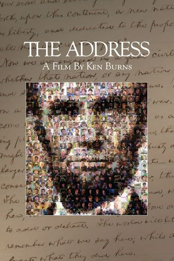 The Address Poster