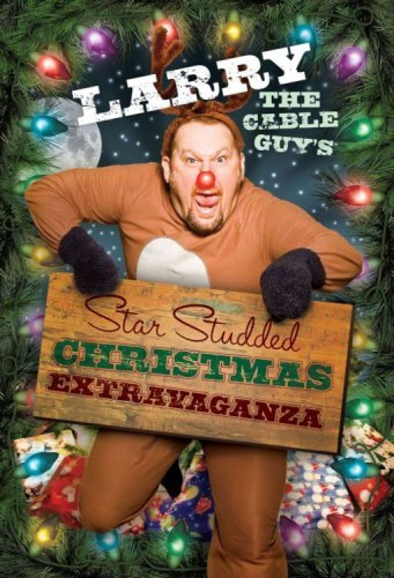 Larry the Cable Guy's Star-Studded Christmas Extravaganza Poster
