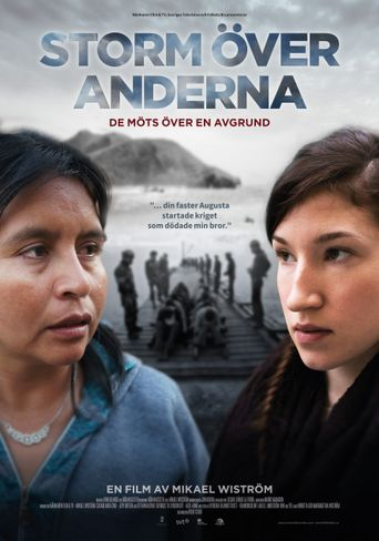 Storm in the Andes Poster
