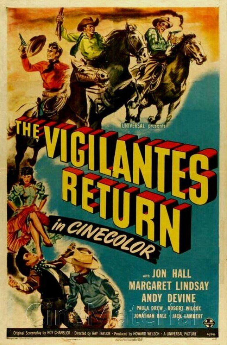 The Vigilantes Return Poster