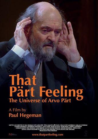 That Pärt Feeling Poster