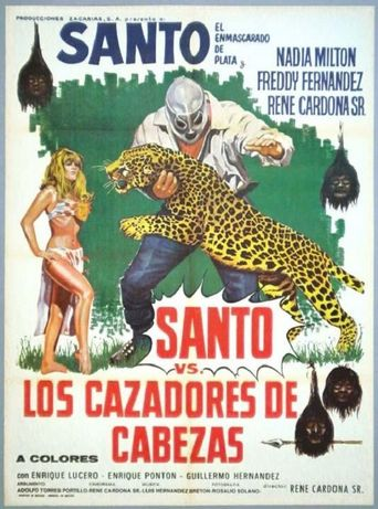 Santo vs. the Head Hunters Poster