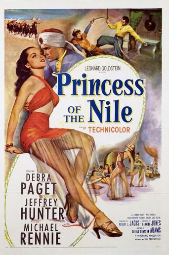 Princess of the Nile Poster