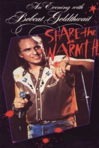 An Evening with Bobcat Goldthwait - Share the Warmth Poster
