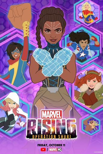 Marvel Rising: Operation Shuri Poster