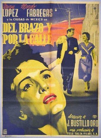 Del brazo y por la calle Poster