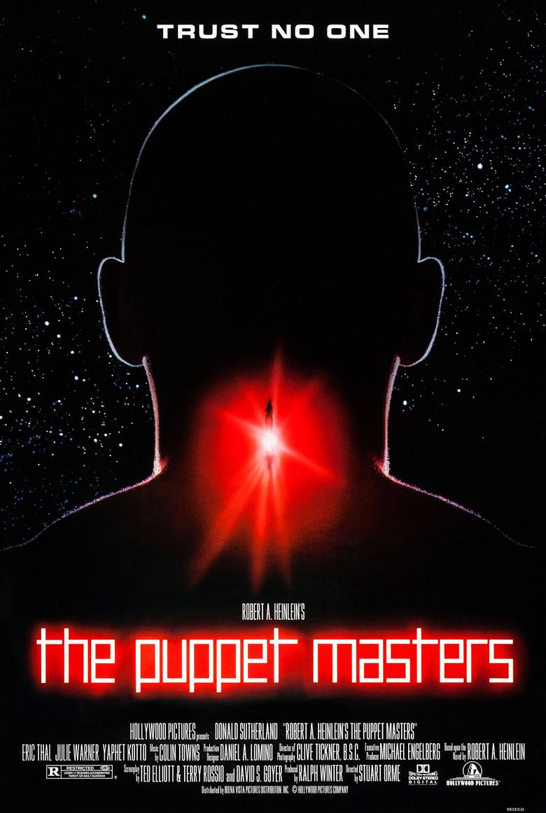 The Puppet Masters Poster