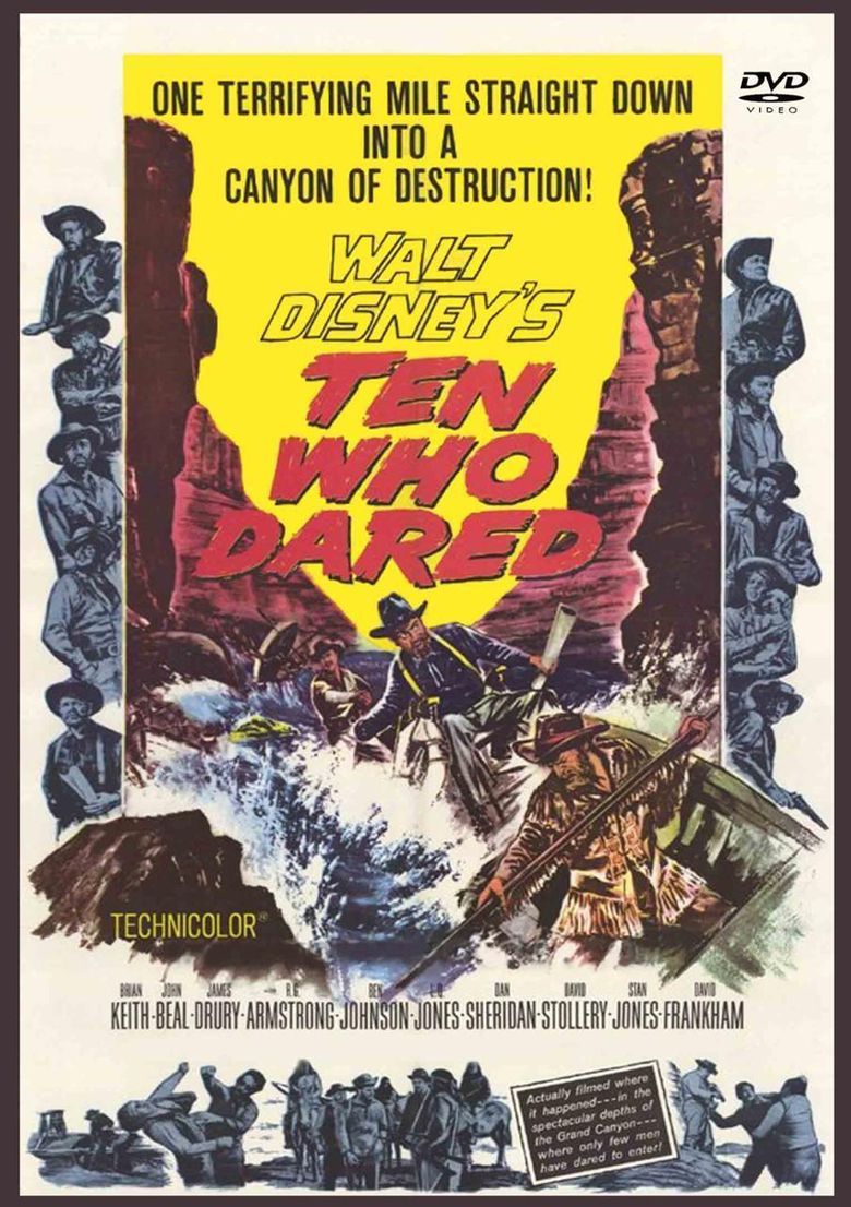 Ten Who Dared Poster