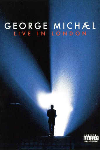 George Michael: Live in London Poster
