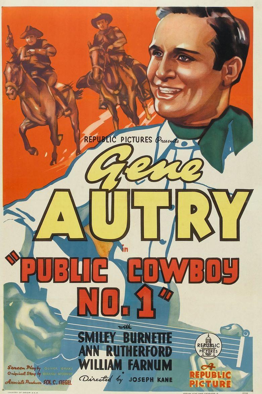 Public Cowboy No. 1 Poster