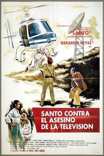 Santo vs. the Murderer of TV Poster