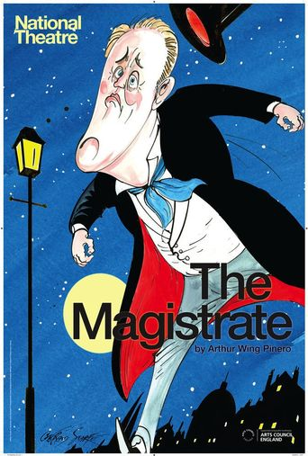 National Theatre Live: The Magistrate Poster