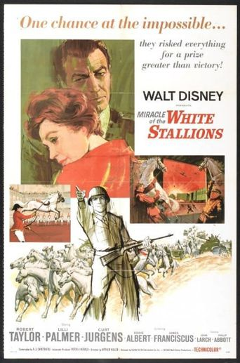 Miracle of the White Stallions Poster