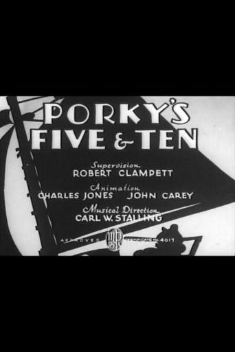 Porky's Five & Ten Poster