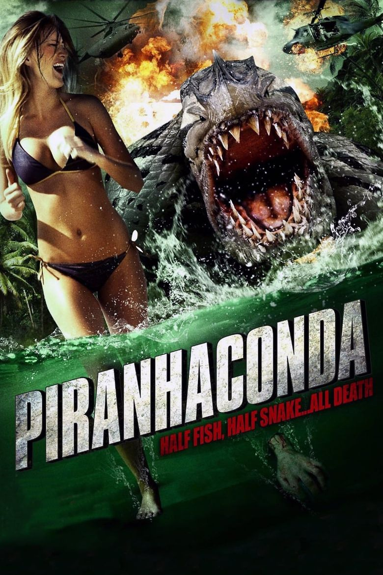 Piranhaconda Poster