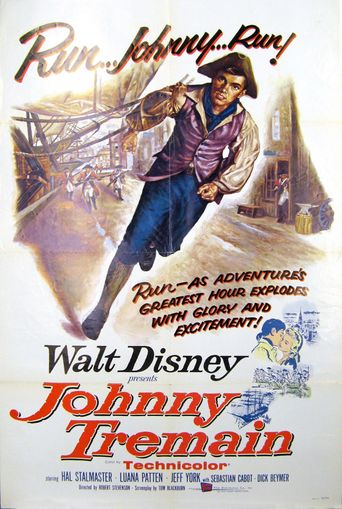 Johnny Tremain Poster