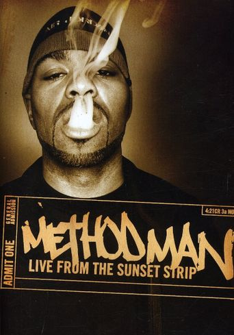 Method Man: Live from the Sunset Strip Poster