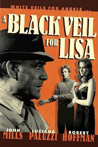 A Black Veil for Lisa Poster
