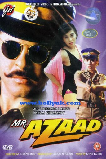 Mr Azaad Poster